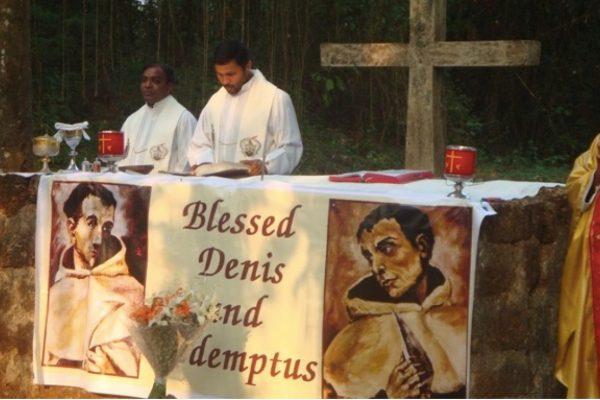 29 november 1638 Zaligen Dionysius van de Menswording en Redemptus van het Kruis