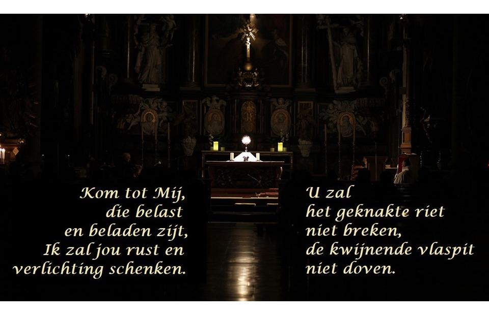 Gebedsteksten Holy Hour 17 juli 2019