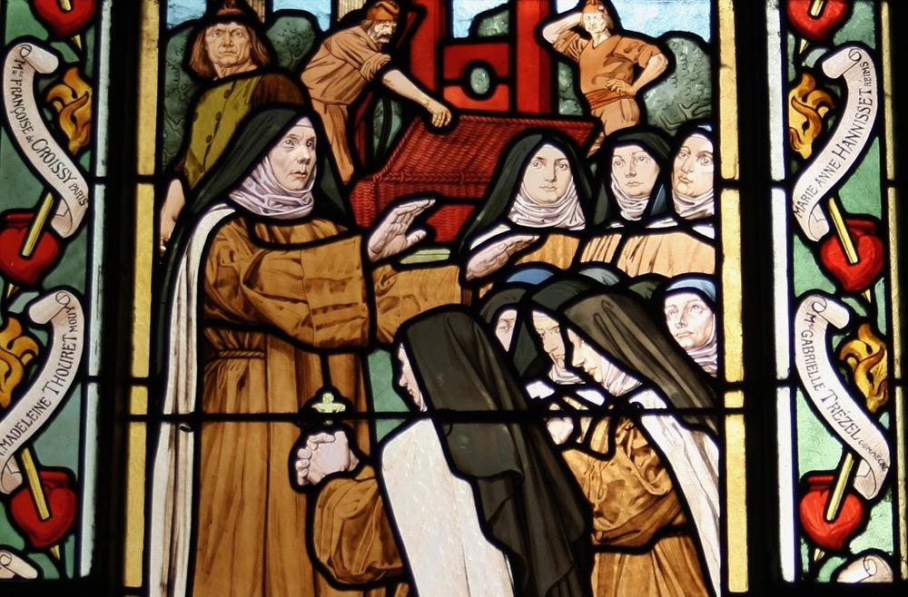 17 juli 1794 Zalige Teresia van Sint-Augustinus en haar medezusters, Martelaressen van Compiègne
