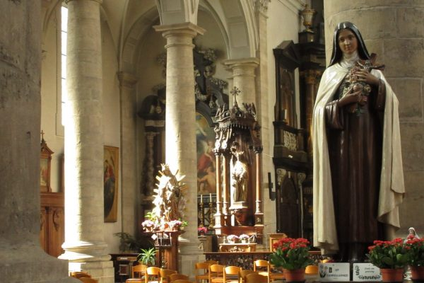 Homilie Pater Lukas 1 november 2020 : Hoogfeest van Allerheiligen
