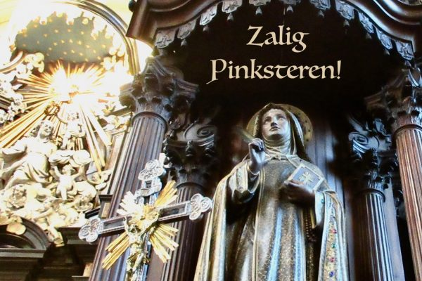 Homilie Pater Piet 31 mei 2020 : Hoogfeest van Pinksteren