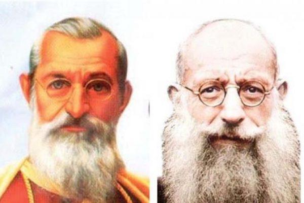 """Mgr Aloysius Benziger OCD en pater Adeodatus OCD : """"Dienaren Gods"""""""