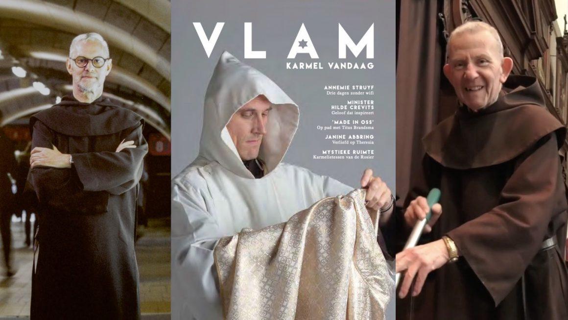 Ontdek het nieuwe magazine van Carmelitana: 'VLAM. Karmel vandaag.'