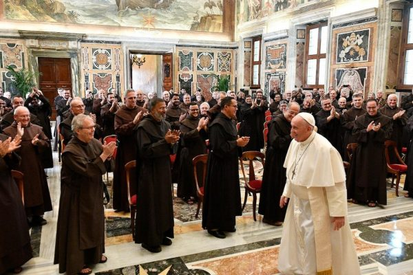 Toespraken door paus Franciscus en door pater generaal Miguel de María tijdens de audiëntie van het generaal kapittel op 11 september 2021